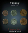 Legendary Metal Coins: Viking Coin Set